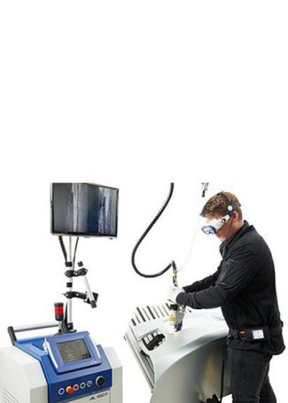 hand-held Mobile laser welding
