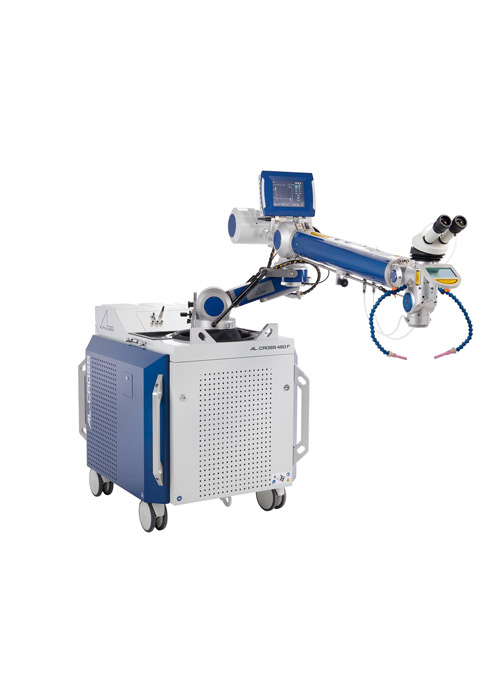AL Cross Mobile Laser Welding