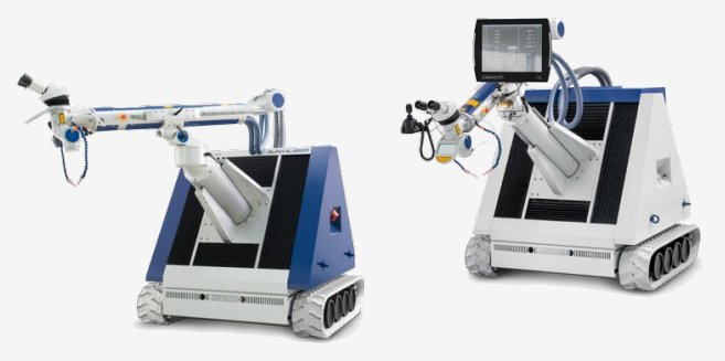 Laser cladding machines