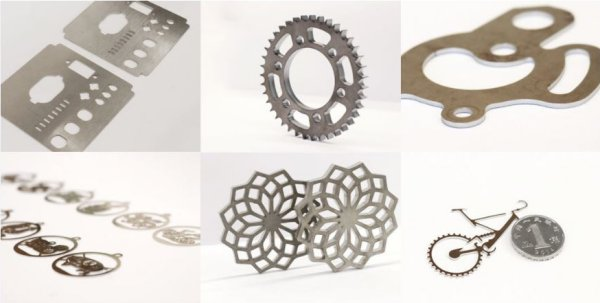 Laser cutting machine materials