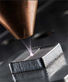 Laser cladding, Direct Metal Deposition