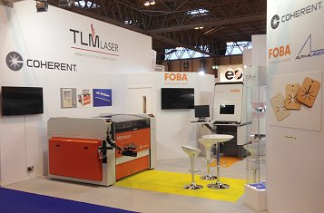 TLM Laser Exhibition stand