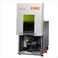 The FOBA M1000 for small to medium sized parts; ideally suited for manufacturers with low volume requirements or space constraints.
