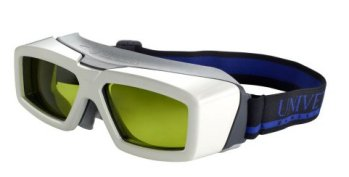 Laser safety eyeware