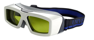 Univet laser safety glasses