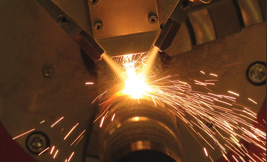Heat treating and hardening a surface with a laser