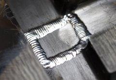 Flange laser welding