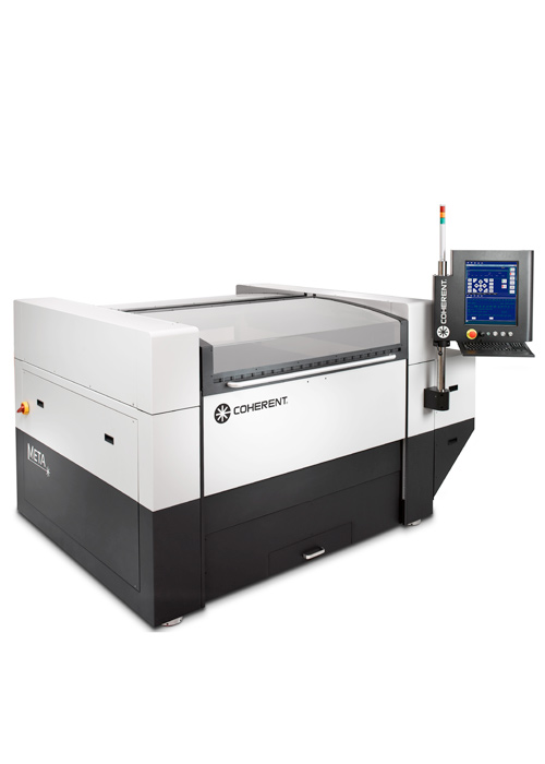 META 2C laser cutter has excellent accuracy and repeatability