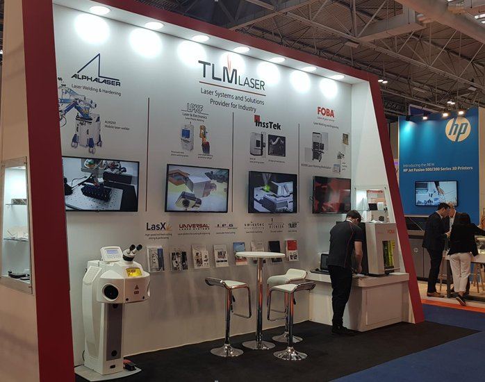 TLM Laser at the MACH 2018 Exhibition