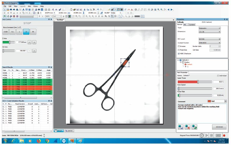 Mosaic laser marking Software