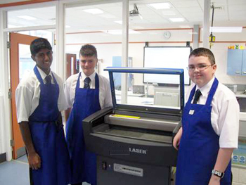 Servicing Laser cutters for schools
