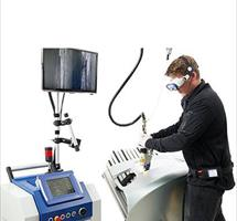 the word's first hand hel laser welder