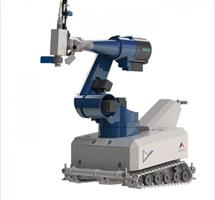 The AL- ROCK is the world's first mobile robot for targeted laser hardening of metal surfaces.