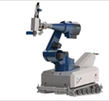 mobile laser robot for laser hardening metal